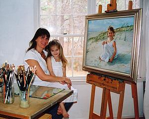 Jenny Lathem in studio